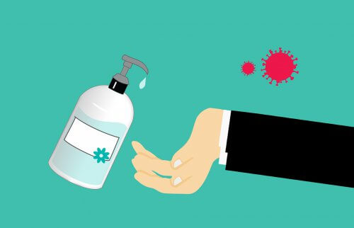 hand sanitiser to fight covid-19